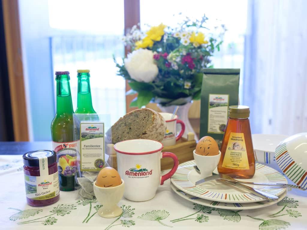 Frühstück im Almenland Apartment