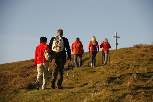 Wandern oder Pilgerreise